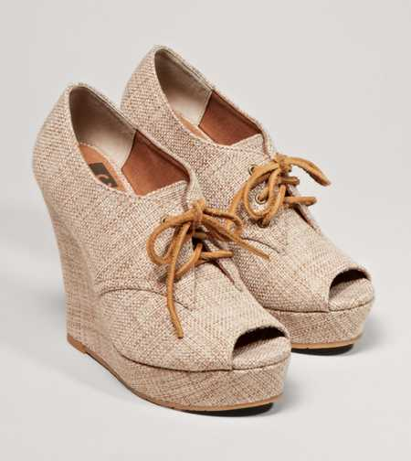 BC Footwear Ruffle Wedge - Free Shipping On Shoes