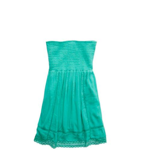 Mint Leaf Aerie Smocked Dress