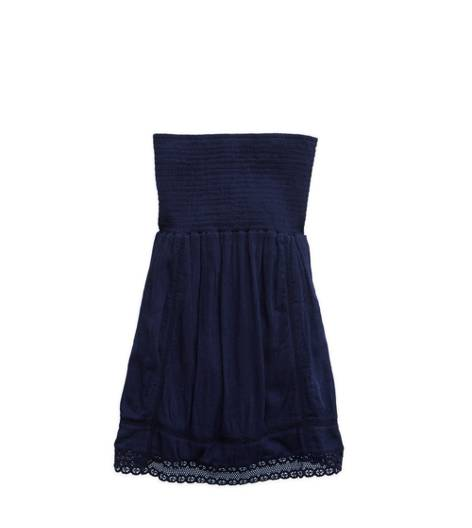 Royal Navy Aerie Smocked Dress