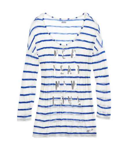 Aerie Long Graphic T-Shirt