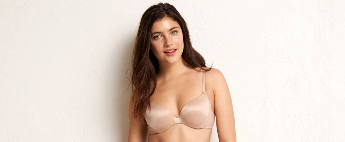 Natural Nude Jennifer Hidden Wire Lightly Lined Bra