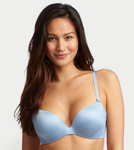 aerie Blue Jennifer Hidden Wire Lightly Lined Bra