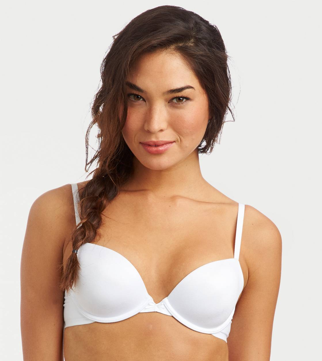 White  Lindsey Lightly Lined Bra