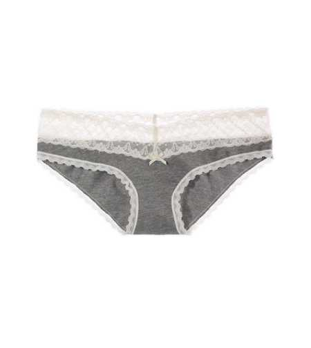 Aerie Solid Lace Girly Brief - 7 for $26.50