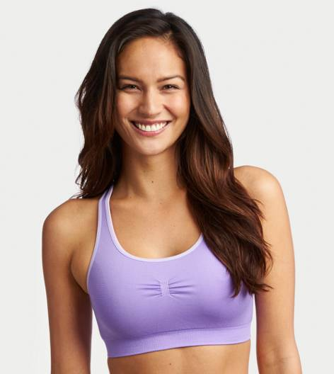 Prep Purple Aerie Seamless Bra