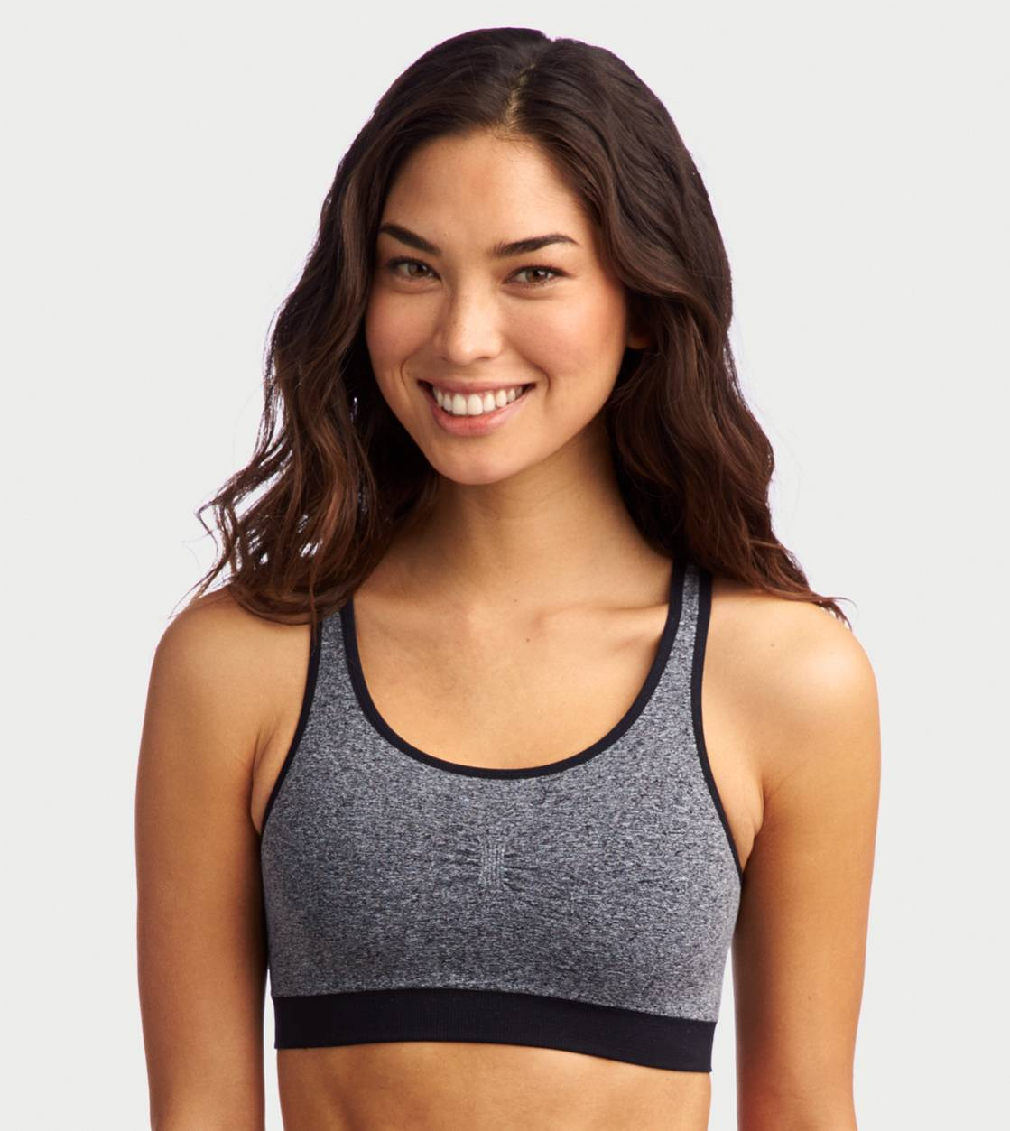 True Black Aerie Seamless Bra