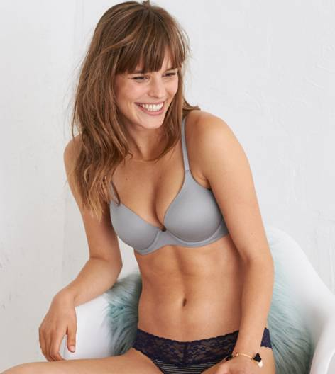 Slab Grey Sunnie Stretch Lightly Lined Bra