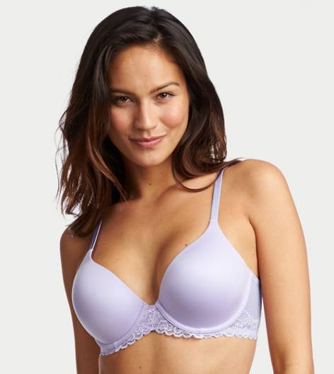 Soft Lavender Sunnie Stretch Lightly Lined Bra