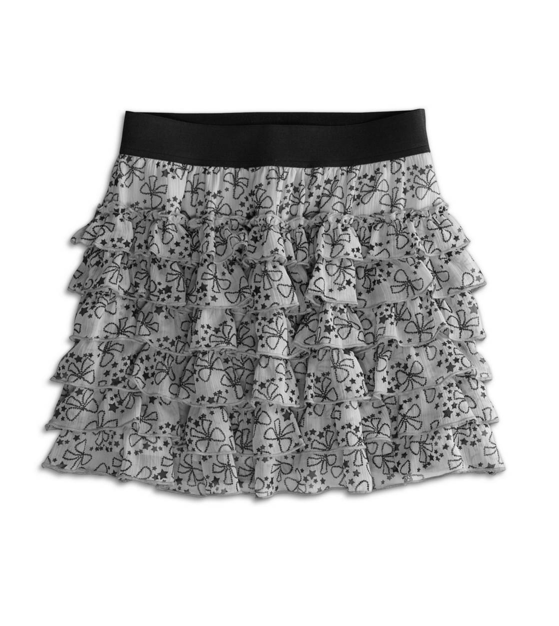 77 twirly ruffle skirt | 77kids by American Eagle :  black white girls kids