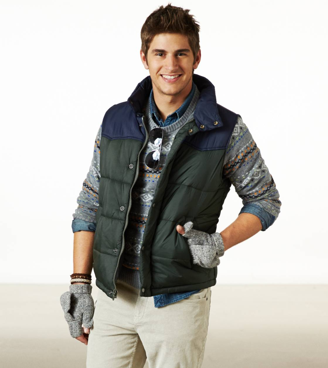 Forest Night AE Puffer Vest