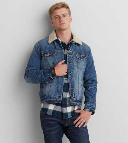 AEO Lined Denim Jacket