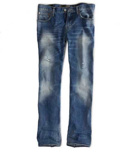 Original Straight Jean - Medium Destroy