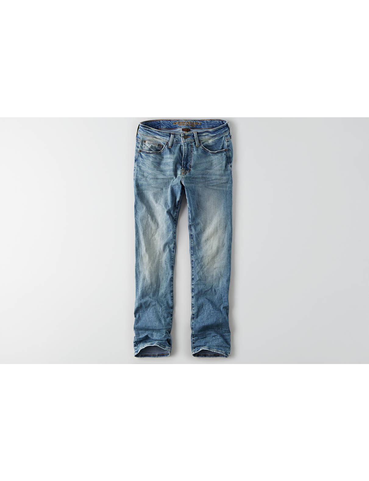 Display product reviews for AEO Extreme Flex Original Straight Jean