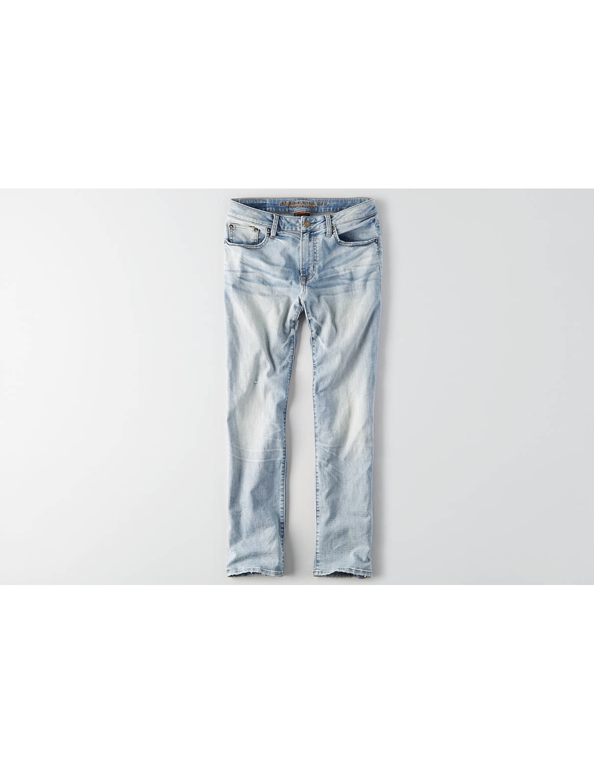 Display product reviews for AEO Flex Air Original Straight Jean