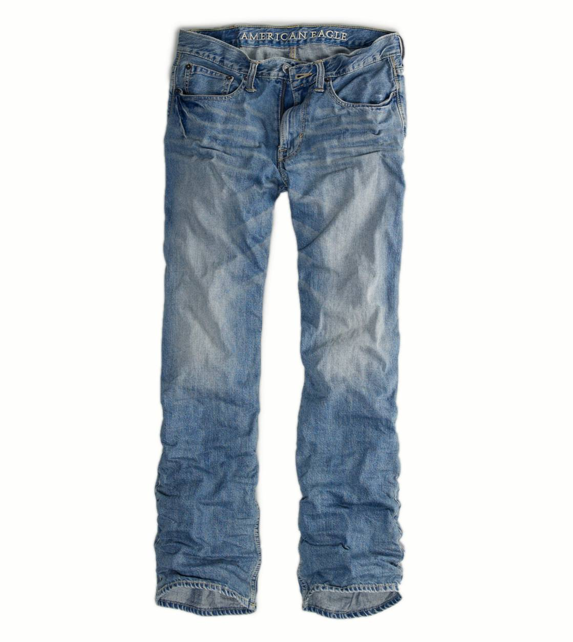 Light Lived In Relaxed Straight Jean