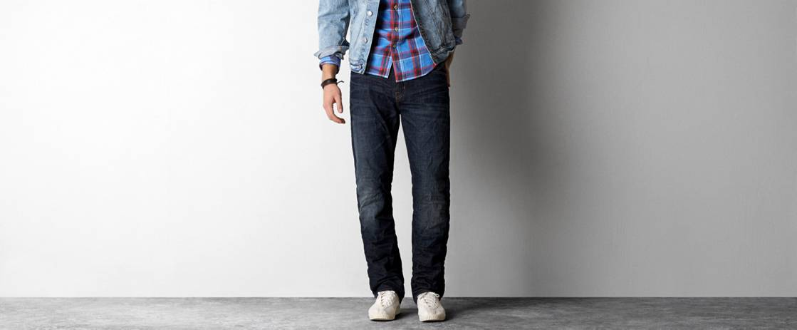 Dark Rugged Resin Relaxed Straight Jean