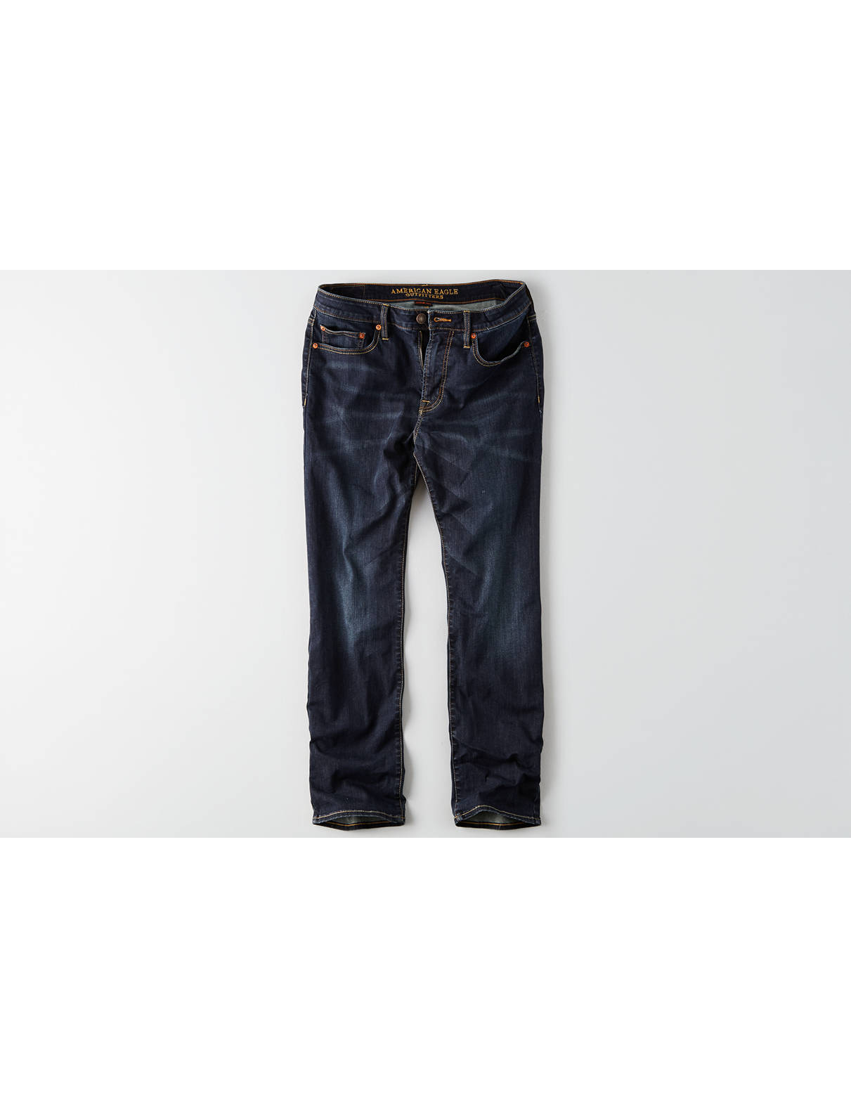 Display product reviews for AEO Extreme Flex Relaxed Straight Jean