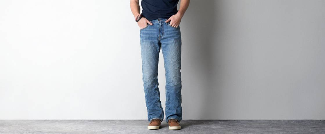 Medium Worn Classic Bootcut Jean