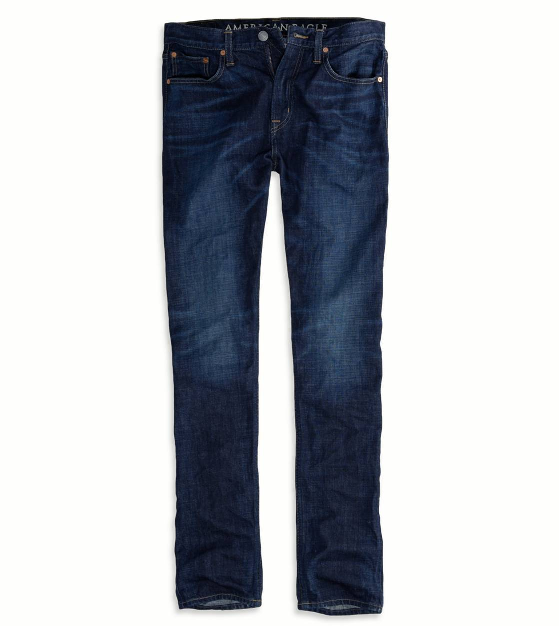 Dark Worn Original Taper Jean