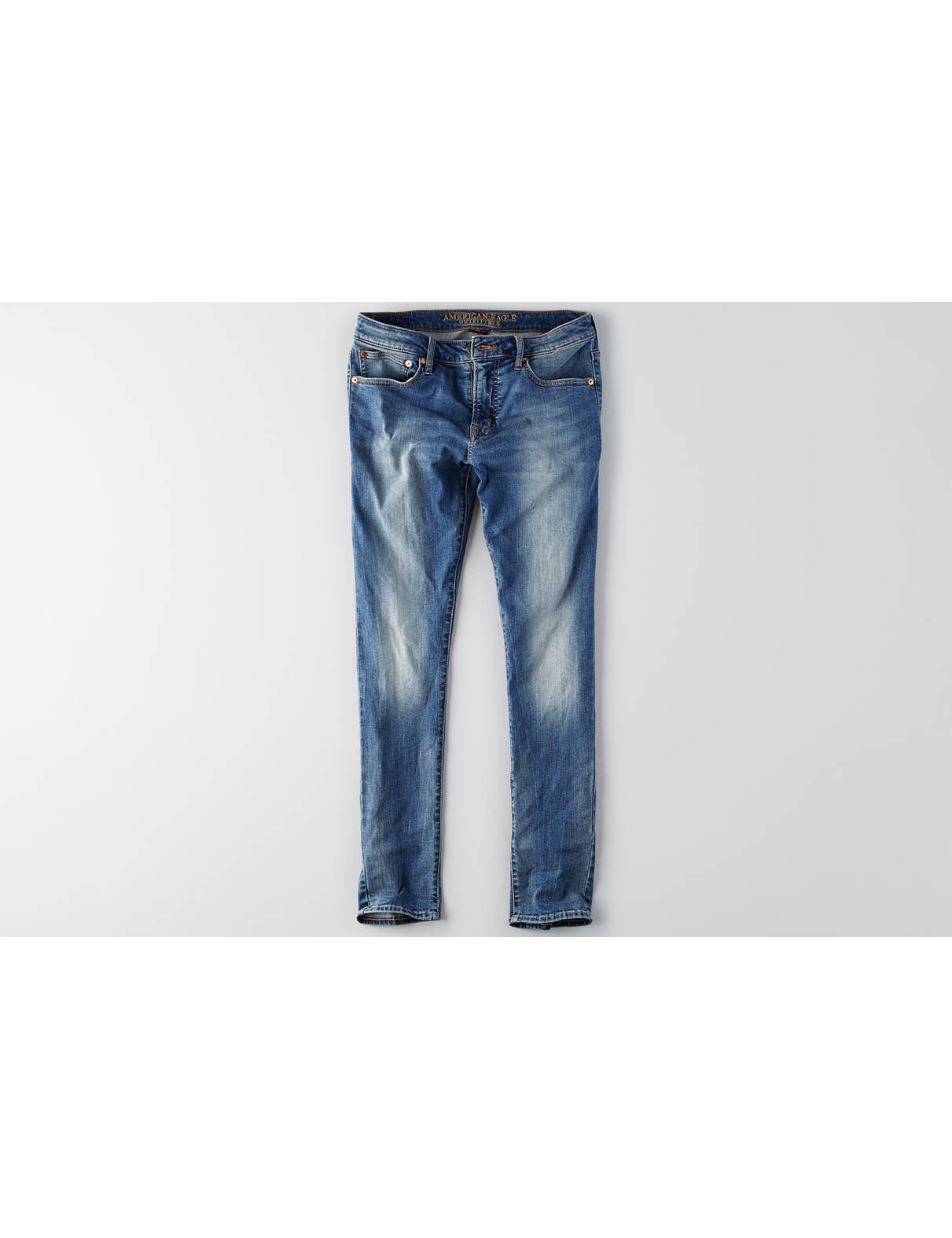 Display product reviews for AEO Extreme Flex Slim Taper Jean