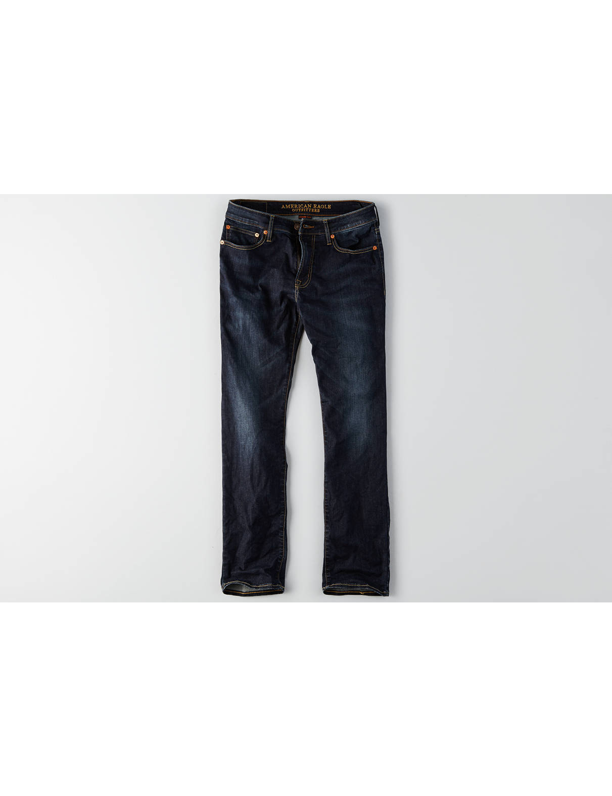 Display product reviews for AEO Extreme Flex Slim Straight Jean