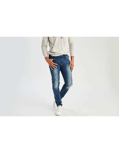 Indigo Skinny Jeans | American Eagle Outfitters