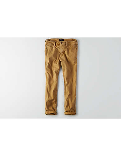 New AE Relaxed Khaki Chino American Eagle Pants Mens 3832  EBay
