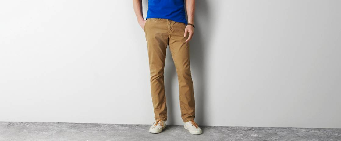 Honey AE Skinny Khaki Pant