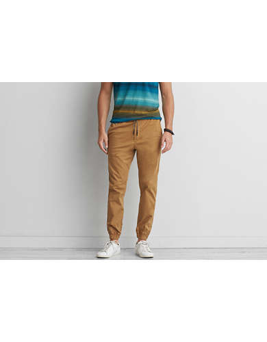 Simple American Eagle Cargo Jogger (Jogging Pants) Pants Menu0026#39;s Tan | *Clothing* | Pinterest | Tans ...