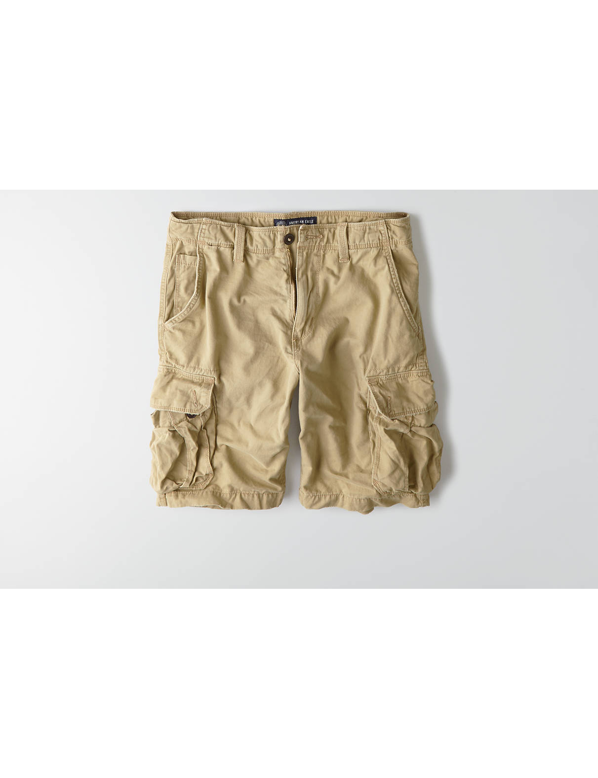 "Display product reviews for AEO 10.5"" Classic Cargo Short"