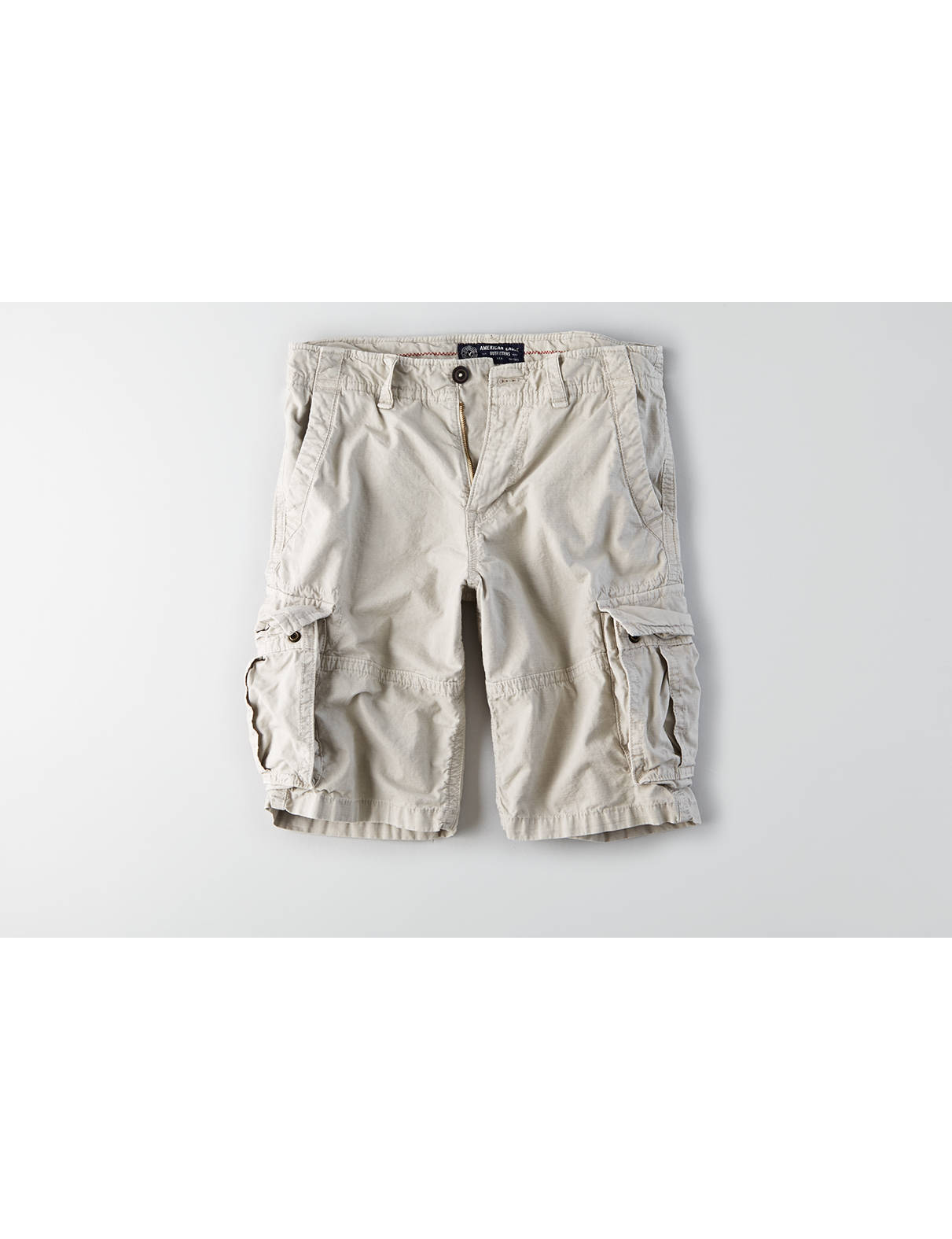 Display product reviews for AEO Longer Length Ripstop Cargo Short