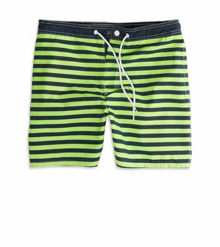AE Printed Swim Trunk