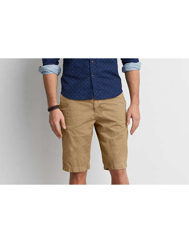 khaki short pants - Pi Pants