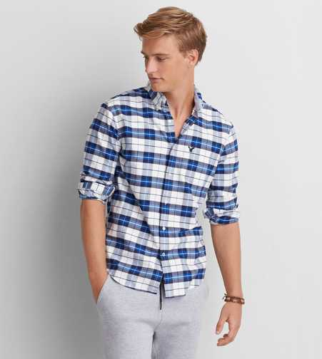 AEO Oxford Button Down Shirt