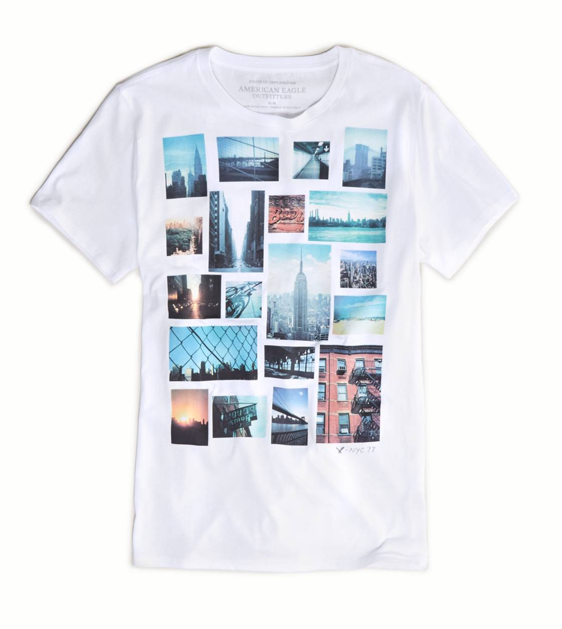 White  AE Photo Real T-Shirt