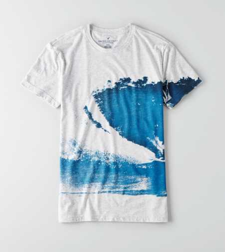 AEO Washed Graphic T-Shirt