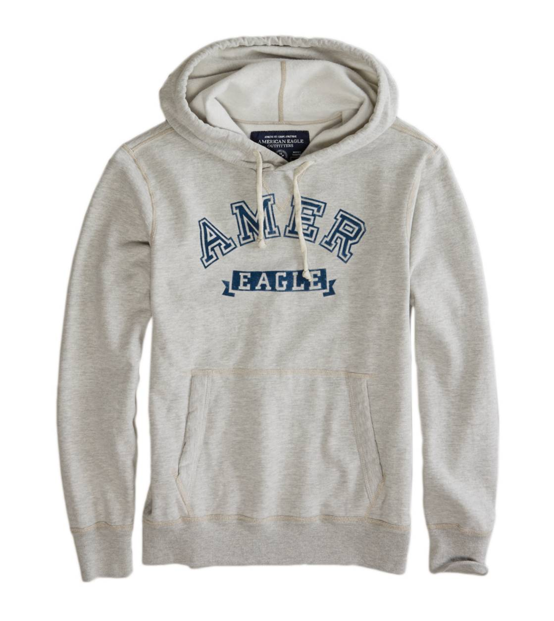 Grey Heather AE Heritage Fleece