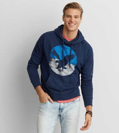 AEO Graphic Pullover Hoodie