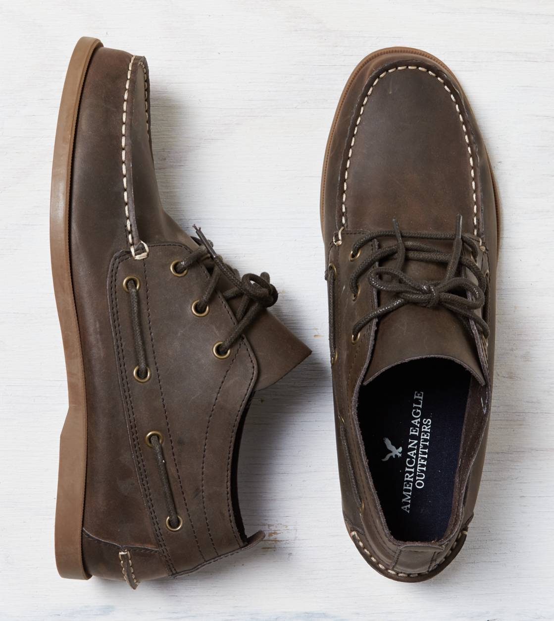 Brown AEO Chukka Boat Shoe