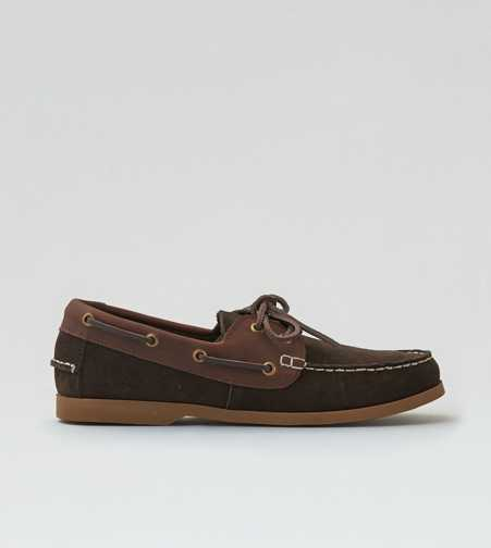 AEO Suede Boat Shoe - Free Shipping