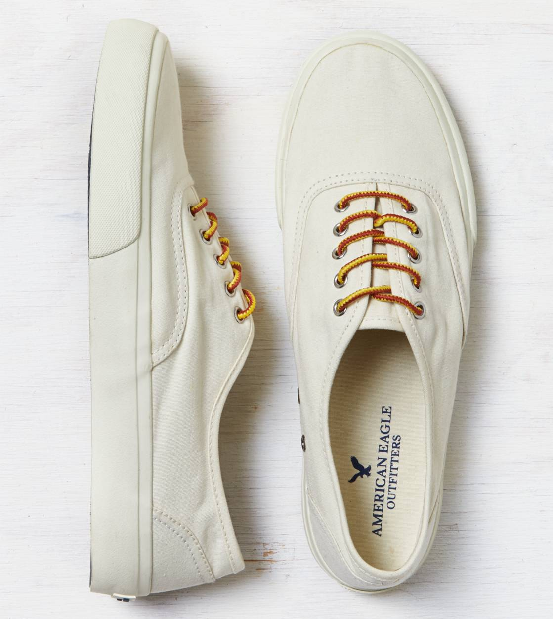 Natural AEO Canvas Sneaker