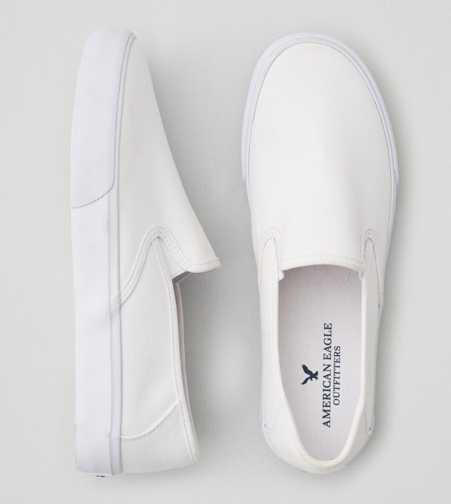 AEO Canvas Slip-On Sneaker