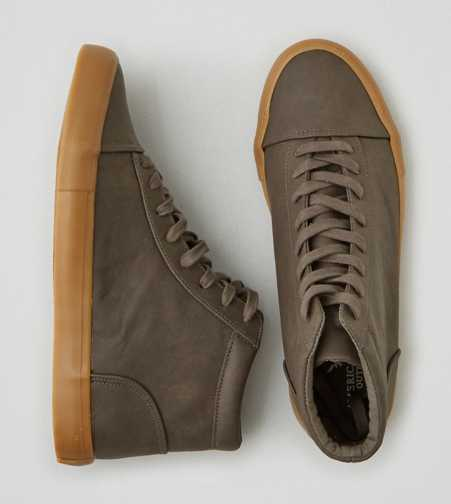 AEO Lace-Up Hi-Top Sneaker - Free Shipping