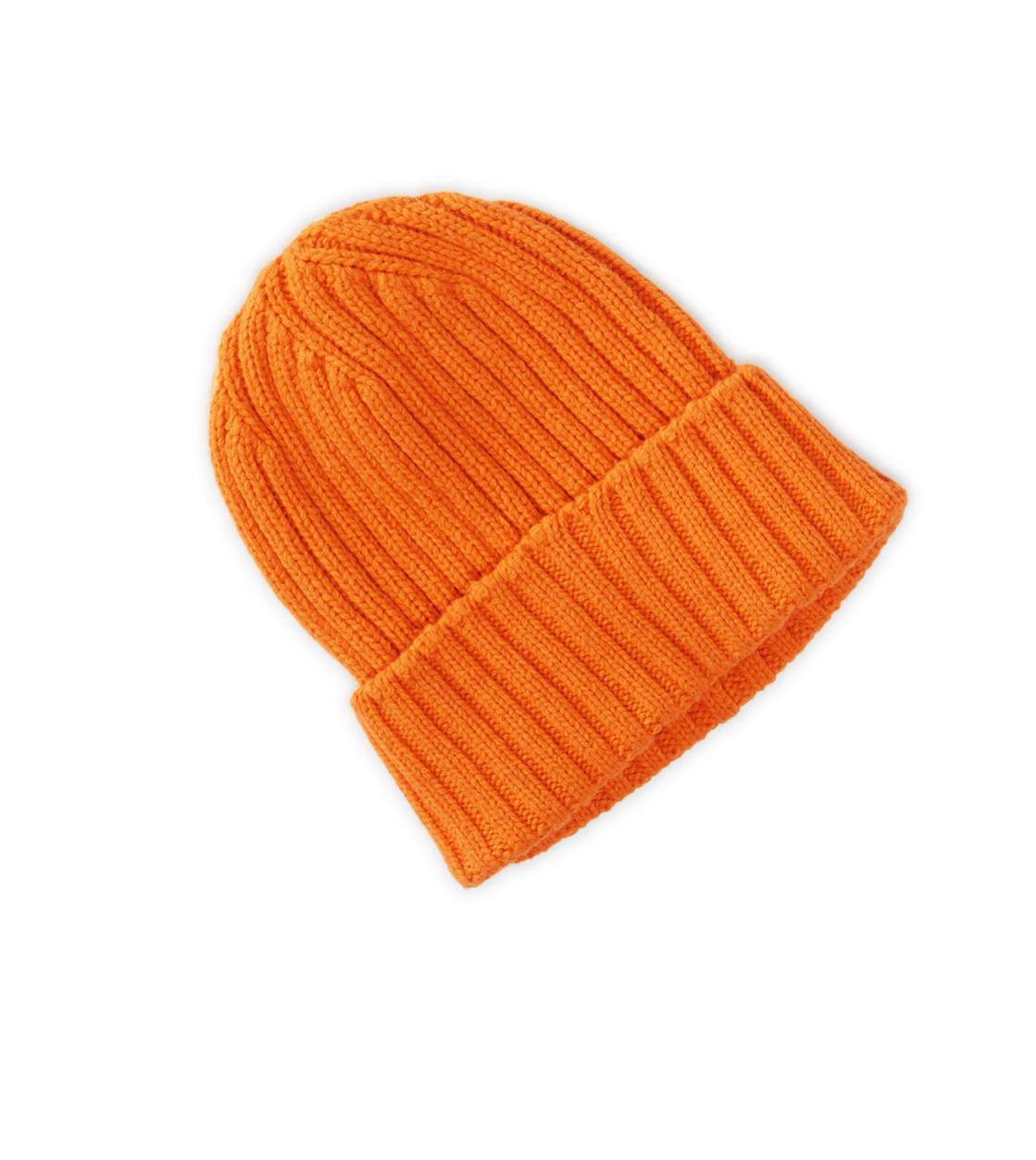 Yellow AEO Ribbed Beanie