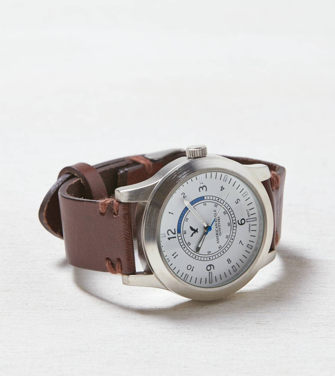Brown AEO Leather Watch
