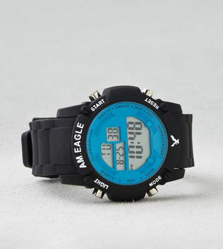 AEO Digital Rubber Watch