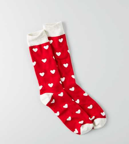 AEO Hearts Fun Sock - Buy One Get One 50% Off