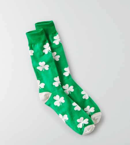 AEO Shamrock Fun Sock  - Buy One Get One 50% Off