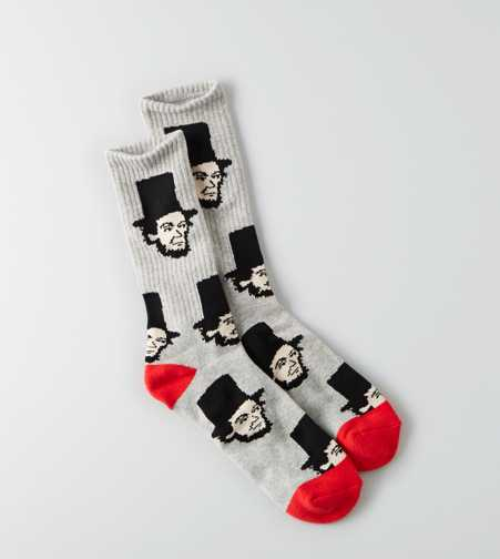 AEO Honest Abe Fun Sock - Buy One Get One 50% Off