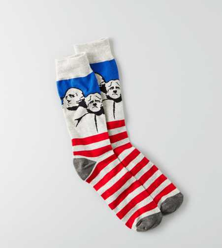 AEO Mt. Rushmore Fun Sock - Buy One Get One 50% Off